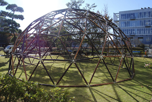 8m Geodesic Bamboo Dome