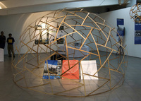 4m Tensegrity Bamboo Dome